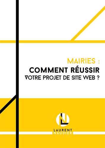 Couverture du livre blanc «Mairies : Comment réussir votre projet de site web ?»